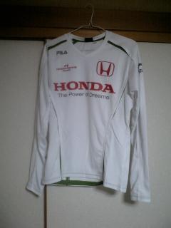 ホンダF1Tシャツ